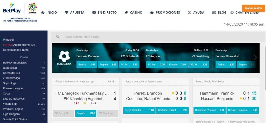BetPlay Apuestas. Betplay es una de las casas de apuestas más importantes de Colombia.
