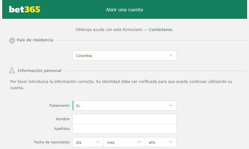 Bet365 Colombia: ¿es legal? La respuesta es no. Sin embargo, la plataforma permite el registro desde el país.