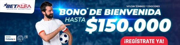 BetAlfa Apuestas. Bono de bienvenida BetAlfa. Mejores casas de apuestas Colombia.