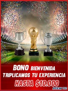 AquiJuego Bono de Bienvenida. Mejores casas de apuestas en Colombia.