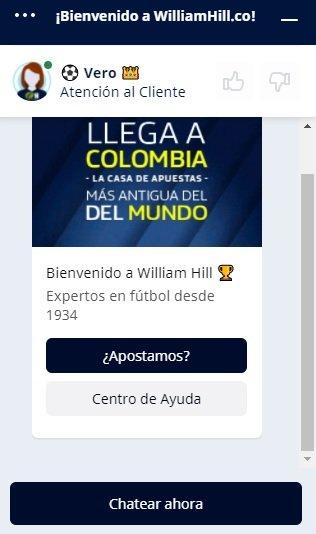 Consulta sobre el Bono William Hill Colombia y mucho más.