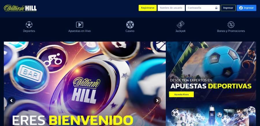 William Hill Colombia. Apuestas deportivas legales en Colombia.